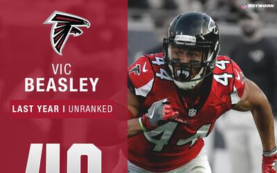 #40: Vic Beasley (LB, Falcons) | Top 100 Jugadores 2017