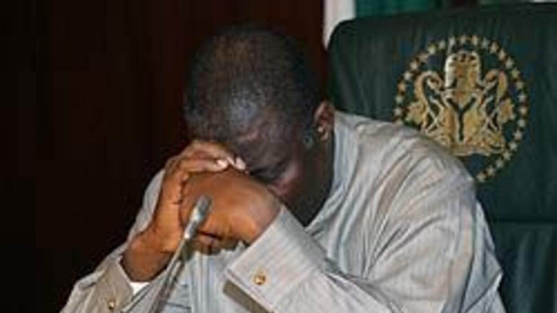Goodluck Jonathan prestó juramento como presidente de Nigeria 7aa930d348...