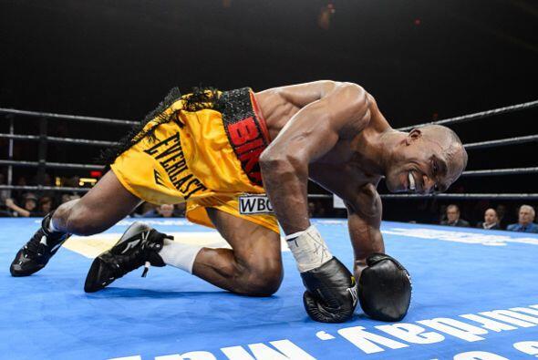 El camerunés estaba en malas condiciones, parecía que Stevenson lo podía...