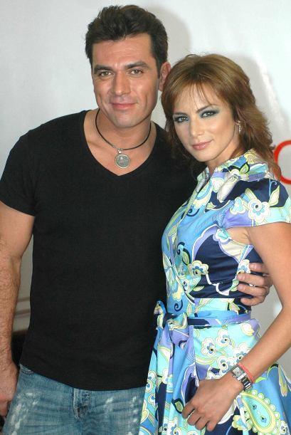 Silvia Navarro  y Jorge Salinas.