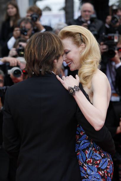 Por su parte, Nicole Kidman y Keith Urban son una pareja que ya lleva mu...