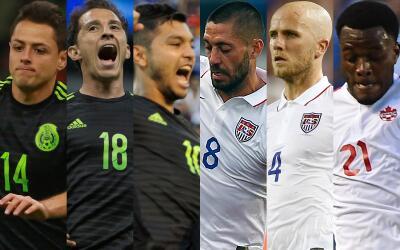 Los nominados a Mejor Jugador de Concacaf