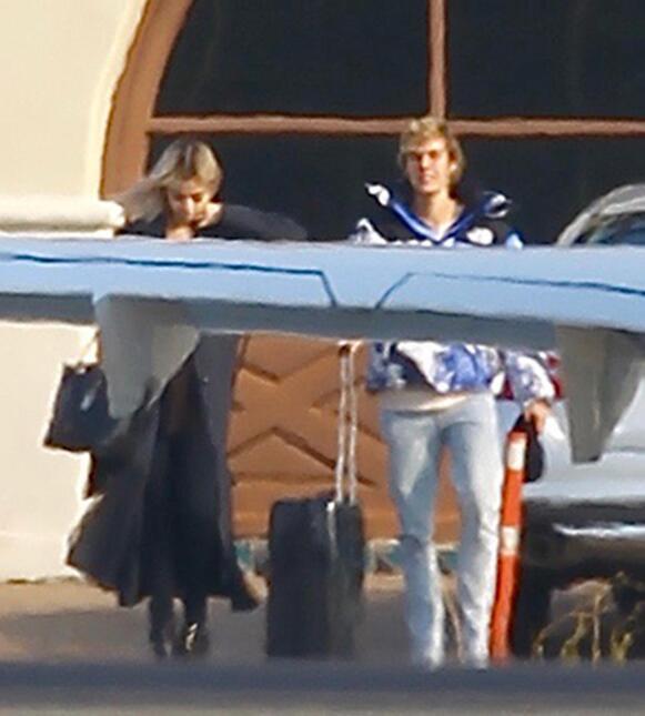 Justin Bieber y Selena Gomez estuvieron largo rato en el 'Chocolate...