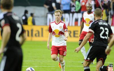 Dax McCarty frente a D.C. United, su antiguo equipo.