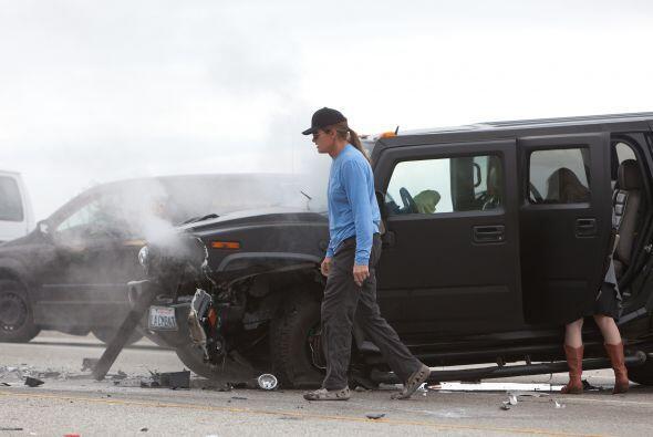 Bruce Jenner chocó en la autopista de Malibu y se provocó una carambola...