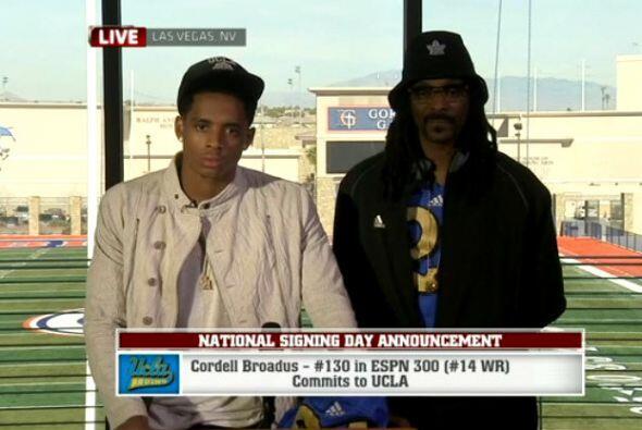 Cordell Broadus, hijo de Snoop, anunció esta semana que ingresará a UCLA...