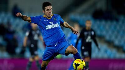 Sarabia marcó el gol con el que el Getafe selló su pase en la Copa.