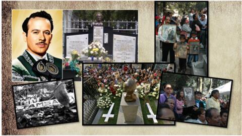 Pedro Infante a 61 años de su muerte, el pueblo no lo olvida