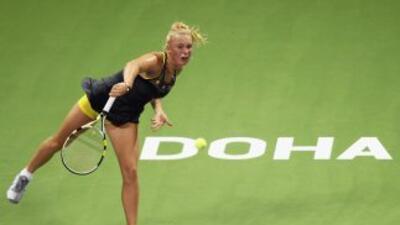 Un triunfo más para Wozniacki y podrá asegurar el número uno del ranking...
