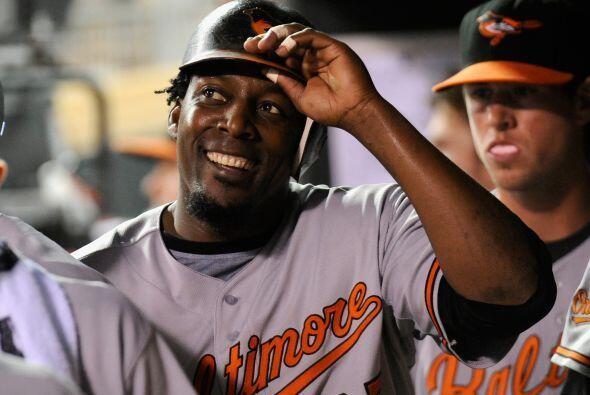 DH. Vladimir Guerrero. Orioles de Baltimore. El dominicano bateó para .4...