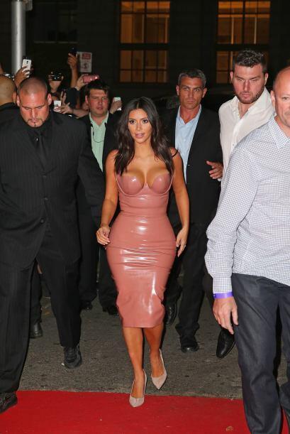 OMG! ¿De nuevo Kim ''encuerada''?