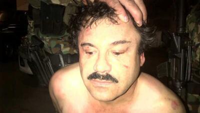 Capturan a El Chapo Guzmán