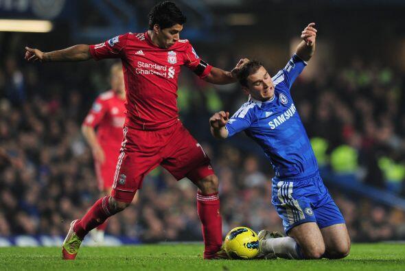 Pero el Liverpool parecía estar cazando al rival, a la espera del moment...