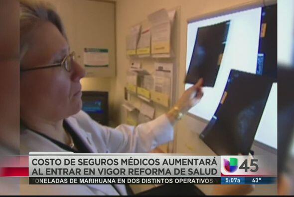 Se pronostica que el costo del seguro médico aumente el próximo año en T...