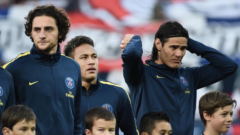 Neymar y Pastore se quedan fuera de la convocatoria del PSG, regresa Cav...