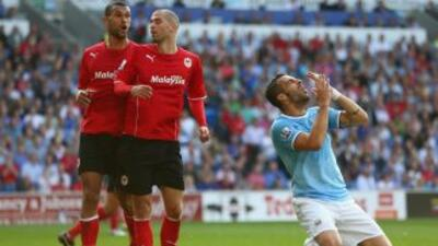 Ni el gol de Negredo, ya en los minutos finales, evitó el traspié de los...