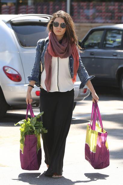 La encontramos haciendo las compras en Los Ángeles. Mira aquí los videos...