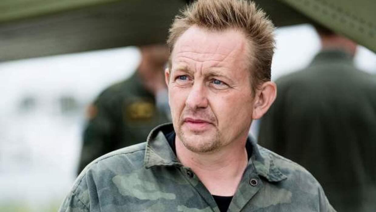 Peter Madsen, constructor y capitán del submarino privado en el q...