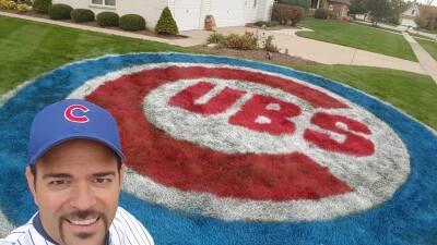 Fanático de los Cubs quiere que su amor por su equipo se vea incluso desde el cielo