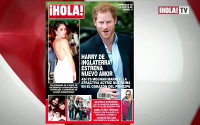 Meghan Markle, la novia del príncipe Harry