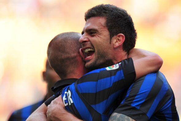El italo-brasileño puso el 1-0 en favor del Inter.