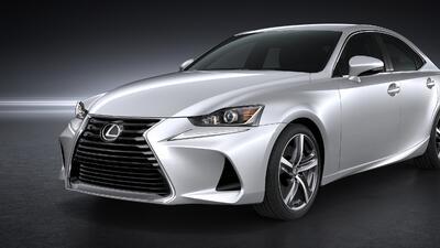 Este es el nuevo Lexus IS 2017