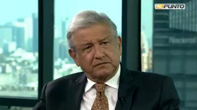 López Obrador dice que Trump es racista y que no negociaría con Peña Nieto