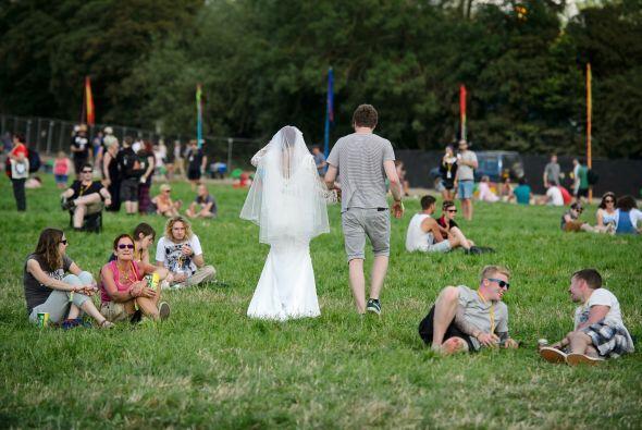 Ahora esta pareja disfrutará del festival que se llevará a cabo en este...