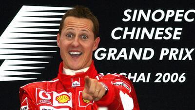 El Gran Premio de China, la última victoria de la leyenda Michael Schumacher en Fórmula 1
