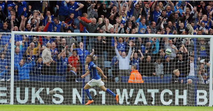 Jamie Vardy deslumbra con sus goles en la Premier League, ha colocado su...