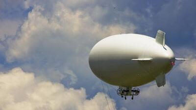 De tener éxito, la iniciativa podría traer decenas de dirigibles dotados...