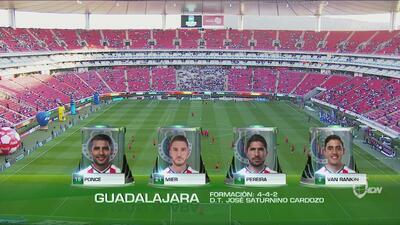 Chivas y Toluca confirmaron sus nóminas titulares