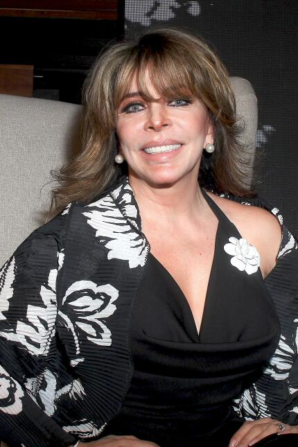Verónica Castro, triste por no ver a sus nietos
