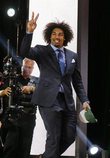 De USC, Leonard Williams, portará el jersey de los Jets (AP-NFL).