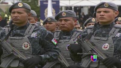 México crea un nuevo cuerpo de policía: la Gendarmeria