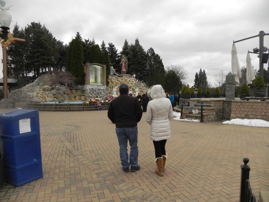 Renzo y Maria Esther visitaron la ciudad y suburbios de Chicago DSCN7395...