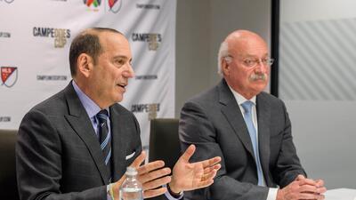 Don Garber y Enrique Bonilla anunciaron una sociedad de largo alcance en...