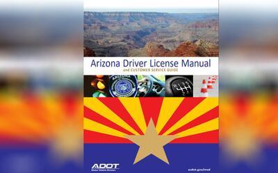 Nuevo Manual para la licencia de conducir en Arizona incluye recomendaci...