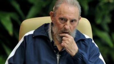 Fidel Castro (foto archivo)
