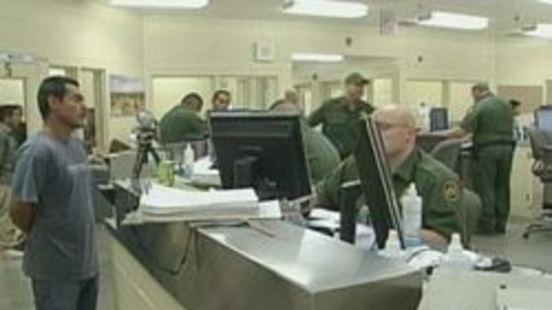 Centro de detencion en la frontera