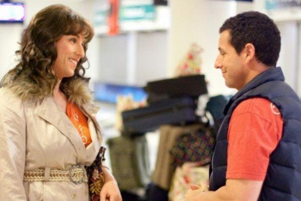 """Jack and Jill"" fue su primera oportunidad en Hollywood."