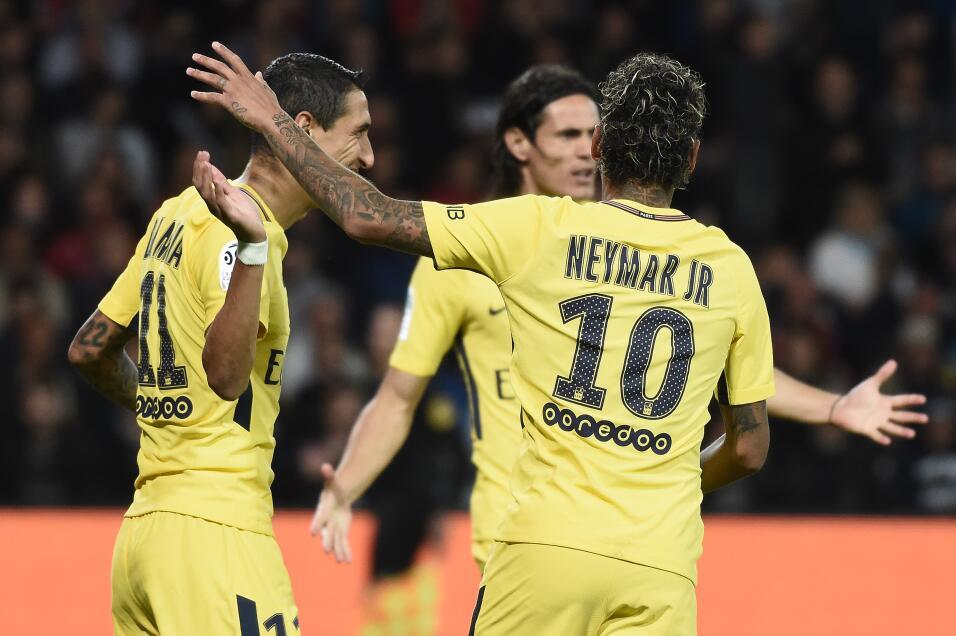 Neymar tuvo debut de ensueño en triunfo del PSG GettyImages-831111536.jpg
