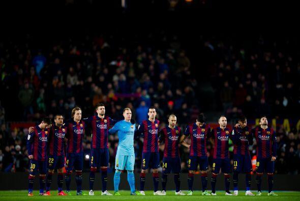 El Camp Nou fue el escenario donde se vieron las caras Barcelona y Atlét...
