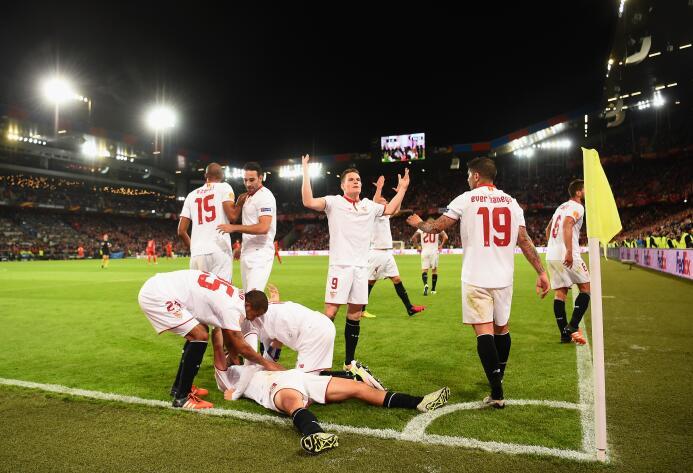 Momentos de la final de la Europa League