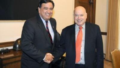 El ex gobernador de Nuevo México, Bill Richardson, fue nombrado el marte...