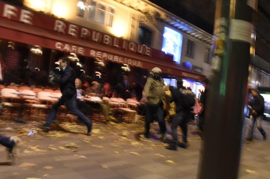 Primeras imágenes tras los ataques en París