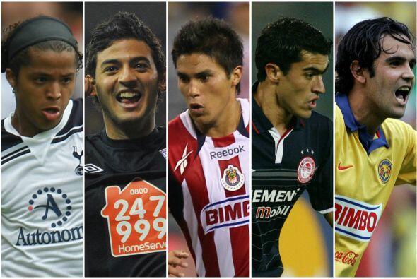 Estos futbolistas mexicanos han buscado establecerse en el fútbol...
