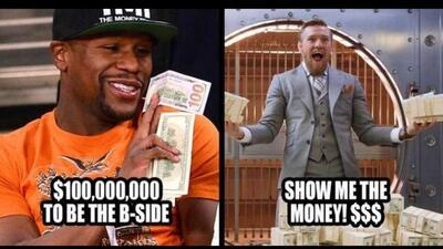Mayweather vs. McGregor: Los memes los noquean a los dos