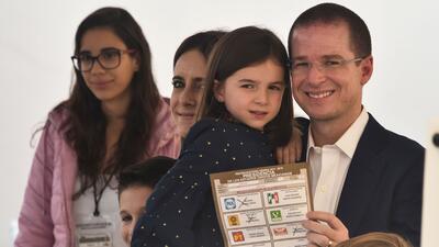 En fotos: Así votó Ricardo Anaya, el abanderado de la coalición 'Por México al Frente'
