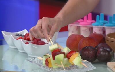 Alimentación ideal para sus hijos durante el verano